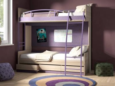 Двухъярусная кровать Индиго ГН-145.005