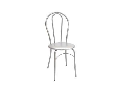 Кухонный стул Элегия серебристый металлик-серибристый