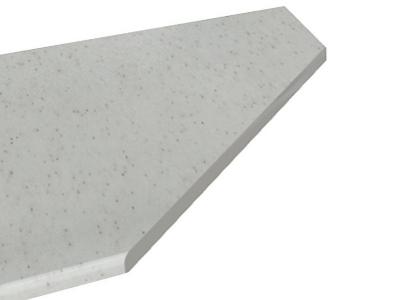 Столешница постформинг торцевавя 28 мм (Белый Камень) 1500 мм